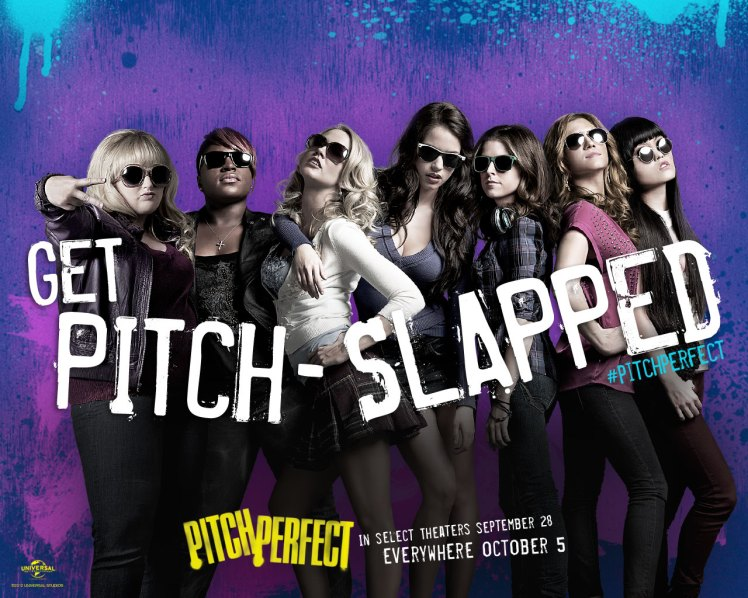 Pitch Perfect (written by Kay Cannon, directed by Jason Moore)